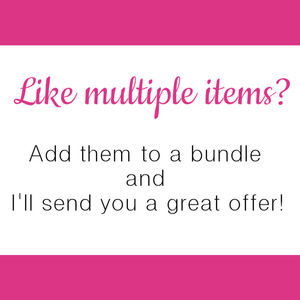 Bundle & Save on all items!!! Get an amazing deal!